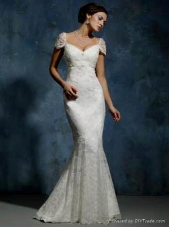 wedding dresses with lace cap sleeves