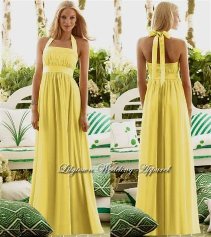 yellow bridesmaid dresses with sleeves